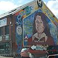Bobby Sands' mural Belfast