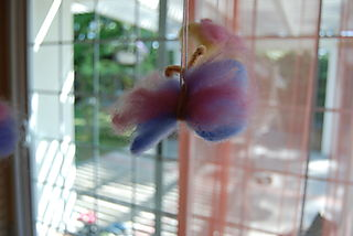 Butterfly felt solo