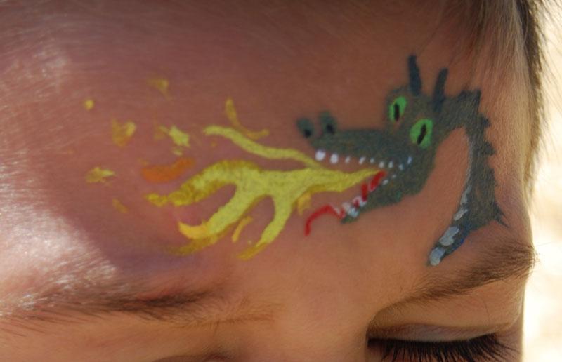 Dragonfacepaint
