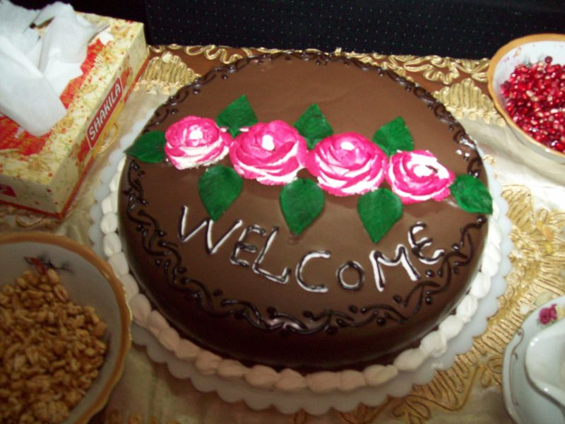 Welcomecake